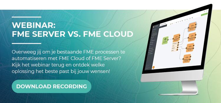 Webinar Recording FME Server vs FME Cloud 1