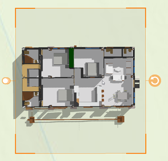 3D GeoViewer Slicing Layer floorplan
