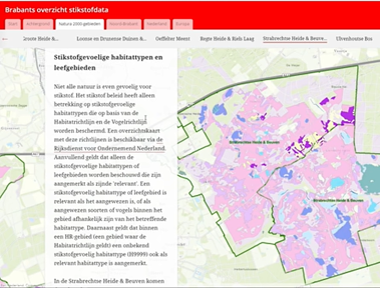 Brabants Overzicht Stikstofdata