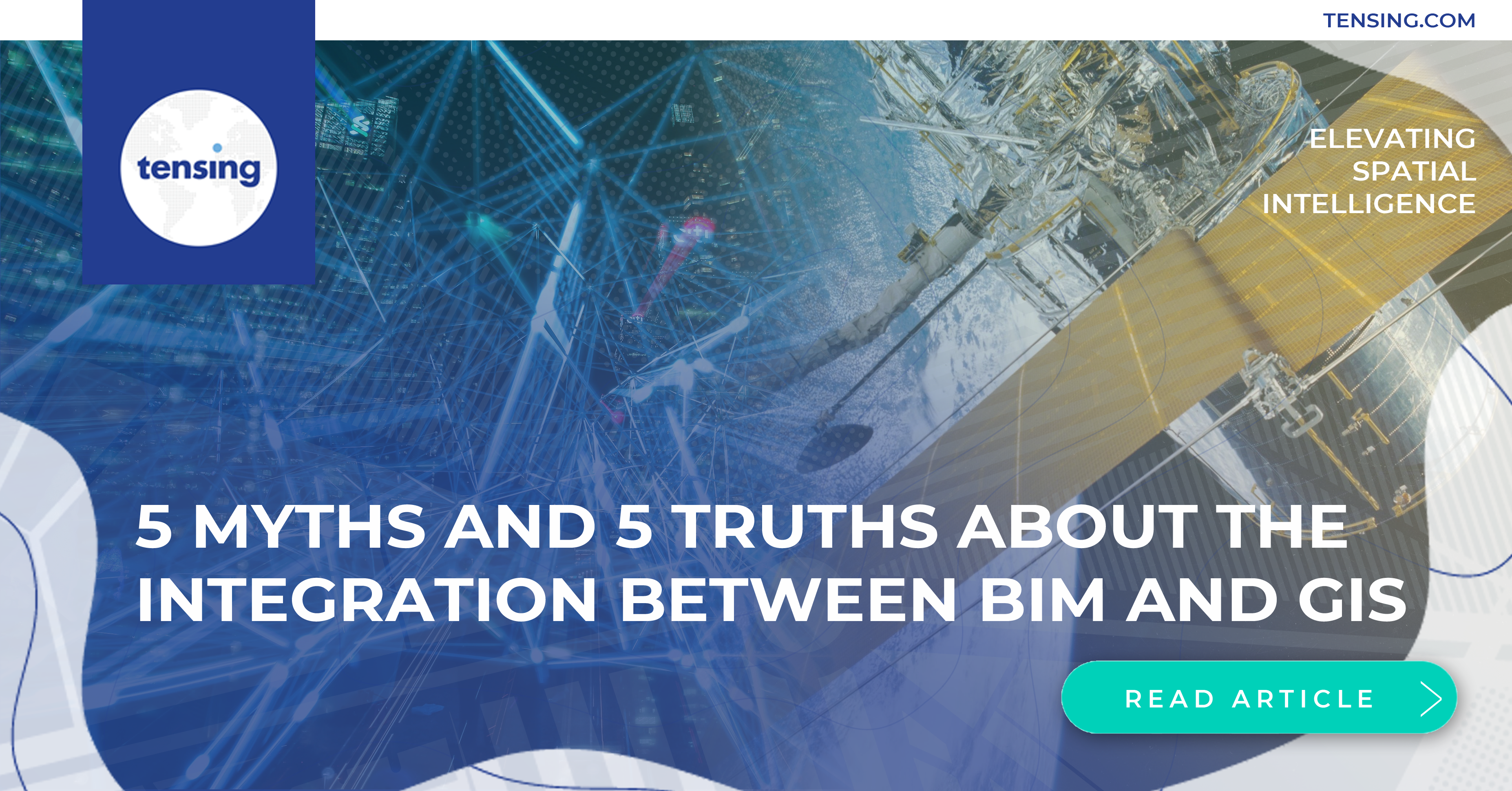 5 myths and 5 truths about the integration between BIM and GIS